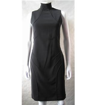 Versace Jeans Couture Size: 10 Black Sleeveless Dress