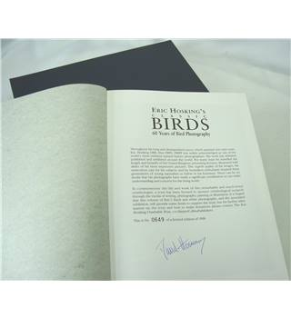 HOSKING'S BIRD PHOTOGRAPHY - SIGNED