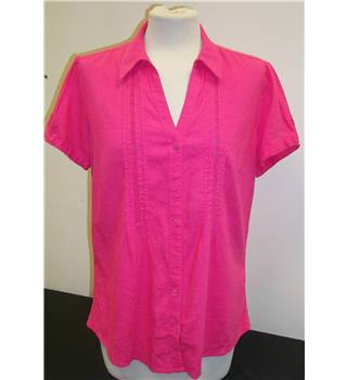 M&S Marks & Spencer - Size: 12 - Pink - Blouse