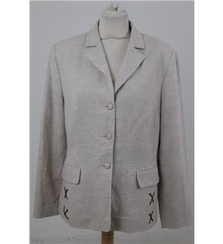 Charter Club - Size: 12 cream jacket