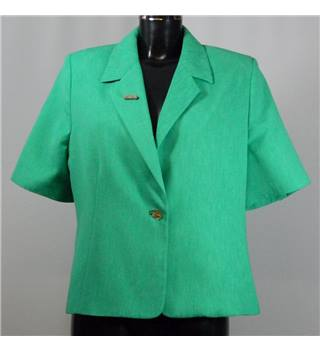 Chianti short sleeved jacket size 16 green Chianti - Size: 16 - Green - Smart jacket / coat