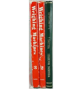 Weighing Machines (3 volumes) - First Edition - Thomas James Metcalfe