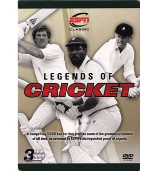 Legends of Cricket [3 Disc] [DVD]