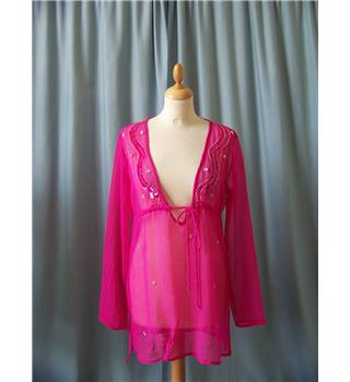 Unbranded - Size: S - Pink - Cover-up