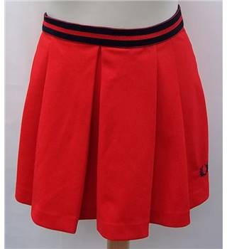 Fred Perry - Size: 26 - Red - Mini skirt