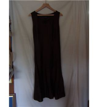 Gerry Weber - Size: 18 - Brown - Long dress and jacket