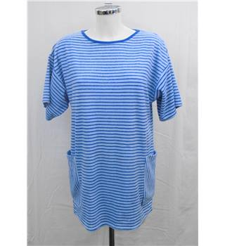Blue striped Beach top Size L