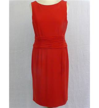 Red cocktail dress. Talbots - Size: 8 - Red - Sleeveless