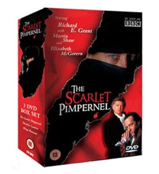 The Scarlet Pimpernel - 3 DVD Box Set