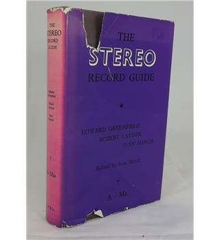The Stereo Record Guide A-Ma