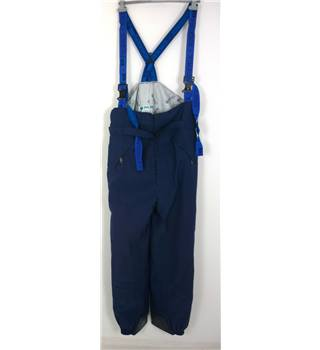 "Pheonix Size: XL, 40"" waist, 32"" inside leg Cobalt Blue Cold/Snow/Boarding Thermal Lined Nylon Gore-Tex Pants/Salopettes"