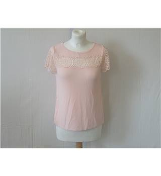 50% OFF SALE Marks and Spencer (M&S)  Pink T-Shirt Size 8 M&S Marks & Spencer - Size: 8 - Pink - T-Shirt