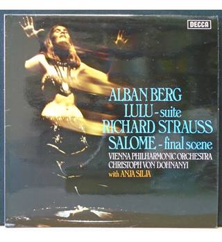 Lulu - Suite / Salome - Final Scene Alban Berg / Richard Strauss / Vienna Philharmonic Orchestra - SXL 6657