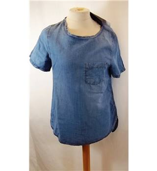 BNWT New Look - Size: 8 - Blue - Short sleeved shirt