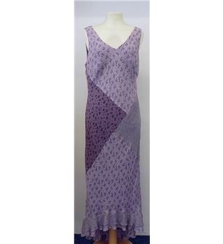 Linea size 14 mauve silk dress Linea - Size: 14 - Purple - Summer
