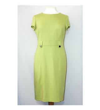 BHS size: 14 green sheath dress