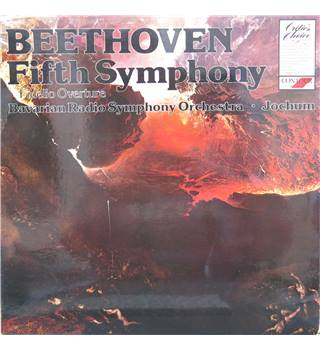 Beethoven Fifth Symphony, Fidelio Overture.  Bavarian Radio Symphony Orch/Jochum.  Contour Red label CC7526