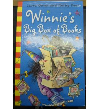 Winnie's big box of Books - by Laura Owen and Korky Paul