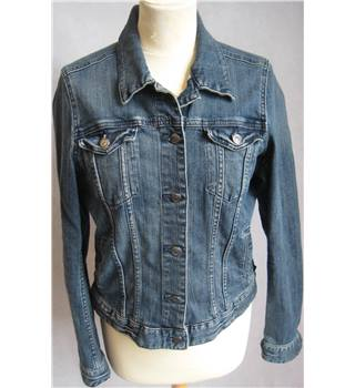 LOGG by H&M blue denim trucker jacket size EU42 H&M - Size: M - Blue - Casual jacket / coat
