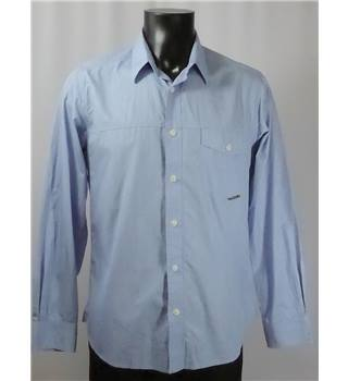 "Barbour Shirt - Pale Blue - Size M (38-40"" Chest) Barbour - Size: M - Blue - Long sleeved"