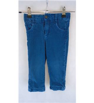 CUTE BOY'S CORDUROY ANDY & EVAN TROUSERS, 18-24 MONTHS Aden & Evan - Size: 1-3 years - Blue