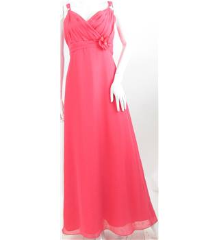 Forever Yours - Size: 10 - Punch Pink - Evening dress