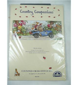 Country Companions - Counted Cross Stitch Kit