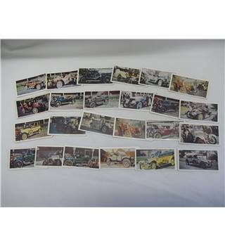 Selection of Veteran Car Cards