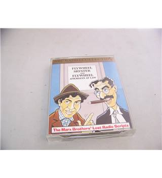 Flywheel Shyster and Flywheel - The Marx Brothers' Lost Radio Scripts ZBBC 1225 Double audio cassette