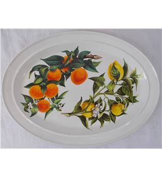 Portmeirion Pottery Fruit Pattern Plate