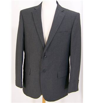 M&S Marks & Spencer - Size: C38W32L31 - Grey - Single breasted suit