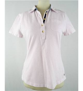 Tommy Hilfiger - Size: 8 - Pink Polka Dot - Polo Shirt
