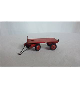 Dinky Toys - Red Trailer Dinky Toys