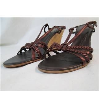 Lotus - Size: 6 - Brown - Heeled shoes