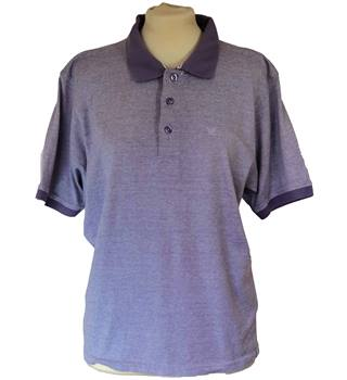 James Pringle Trendy 100% Cotton Polo Shirt Size S In Lilac