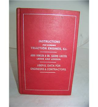 instructions for the practical working of Traction Engines and road rollers