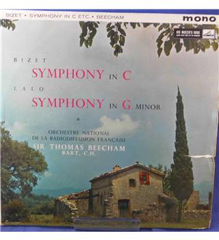 Bizet/Lalo: Symphony in C/Symphony in G Minor - Sir Thomas Beecham - ALP 1761