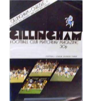Gillingham v Carlisle United - Division 3 - 19th January 1980