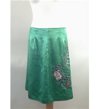 Women's Skirt Unbranded - Size: 12 - Green - Pencil skirt