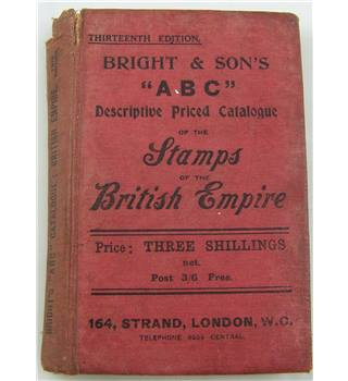 "Bright & Son's ""ABC"" Descriptive Priced Catalogue of Stamps of the British Empire"