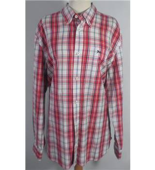 J.Hampton Size: XL Red check shirt