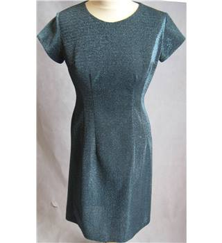 Dana's Fashion vintage 1960s blue lurex shift dress M Dana's Fashion (vintage) - Size: M - Blue - Vintage