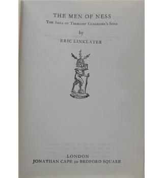 The Men of Ness, the Saga of Thorlief Coalbiter's Sons