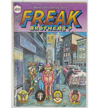 The Fabulous Furry Freak Brothers No 4