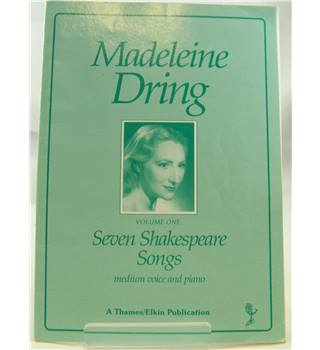 Madeleine Dring - Seven Shakespeare Songs. Medium Voice and Piano.