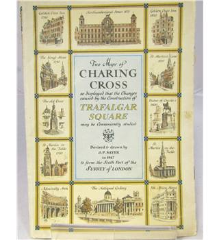 Two Maps of Charing Cross, A prospect of St James's Park, Map of the Strand, etc (8 maps)