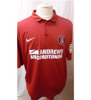 Nike - Charlton Athletic - Size: XL - Red - Football Top