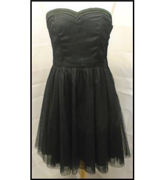 H&M - Size: 12 - Black - Strapless dress