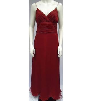 BNWT - Massimo Dutti - Size: 14 - Red - Evening dress