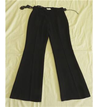 Planet Black Ladies Trousers Size 8 Planet - Size: S - Black - Trousers
